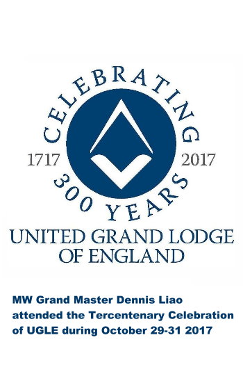 UGLE Celebrating 300 years